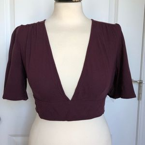 Forever 21 Size L Crop Top